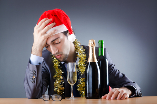 alcohol consumption at Christmas