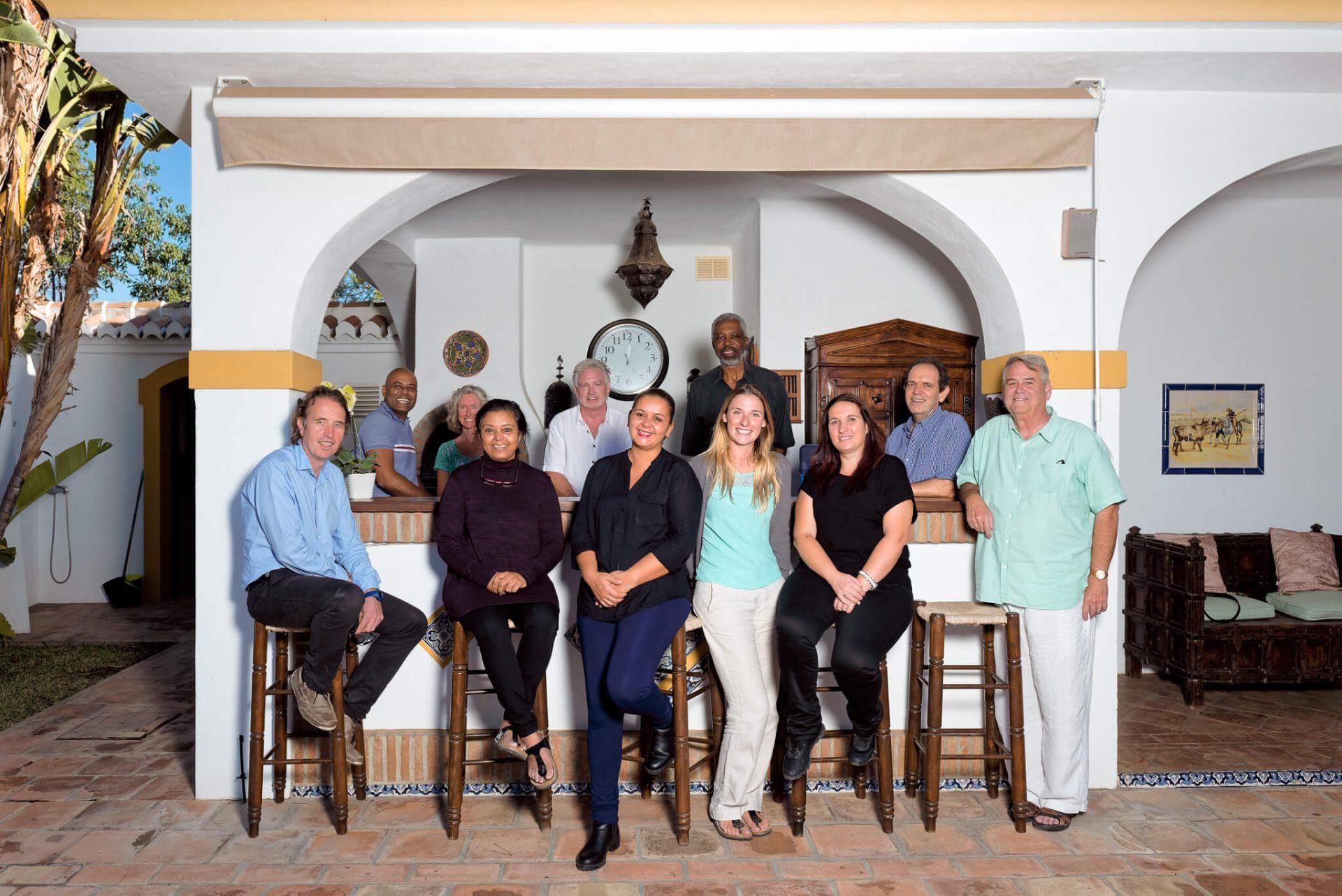 Camino Recovery team