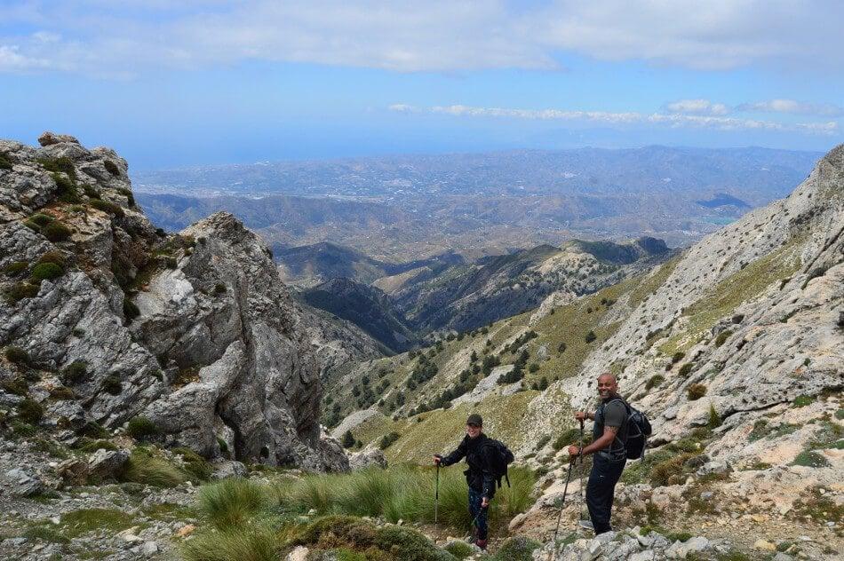 Hiking Axarquia Camino Recovery