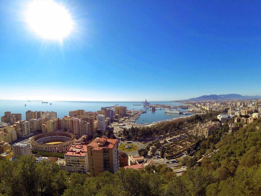 Malaga-view-bullring