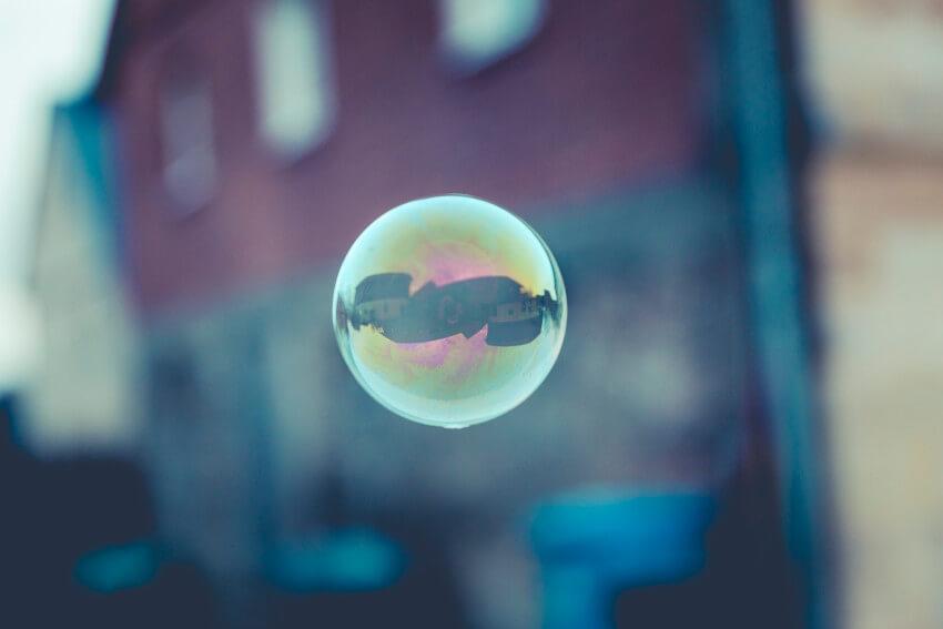 bubble horizon