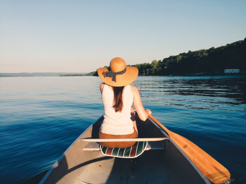 paddling to recovery