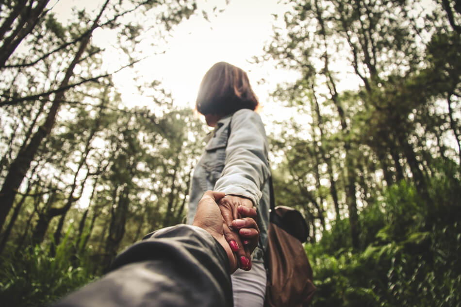 relationships and addiction hiking