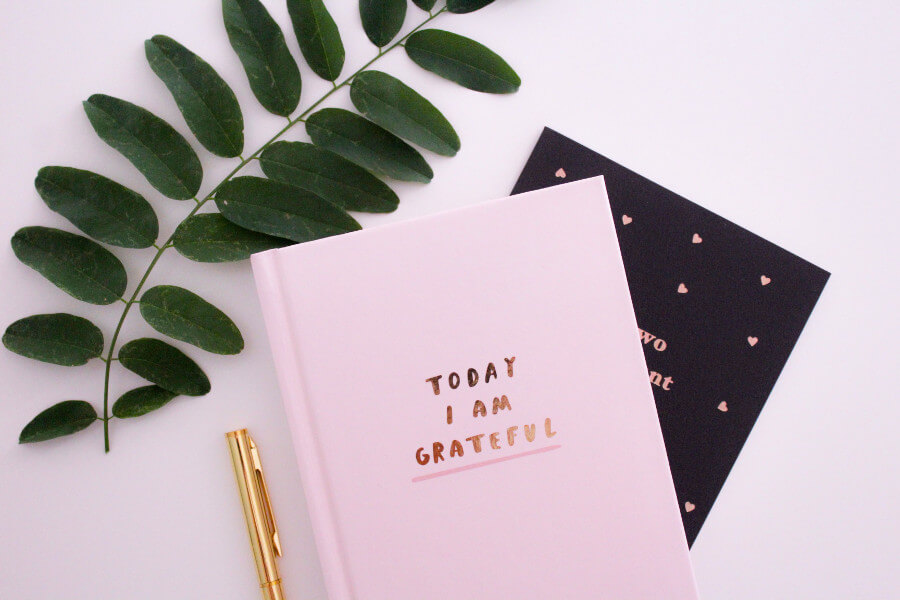 keeping a schedule and gratitude
