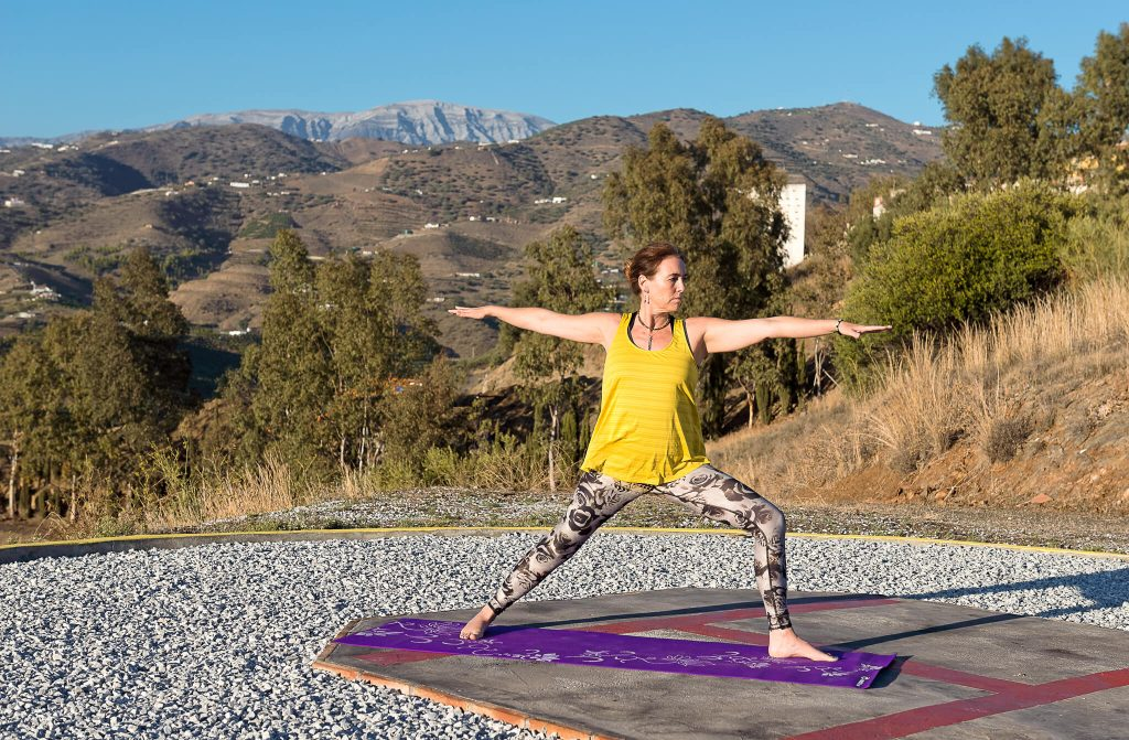 Yoga practise Camino Recovery Spain